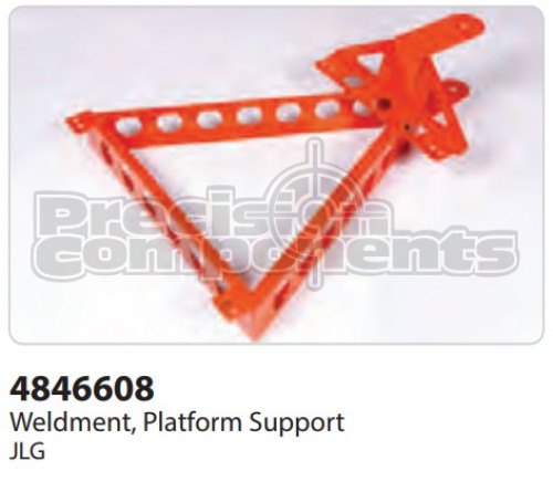 JLG Weldment, Platform Support - Part Number 4846608