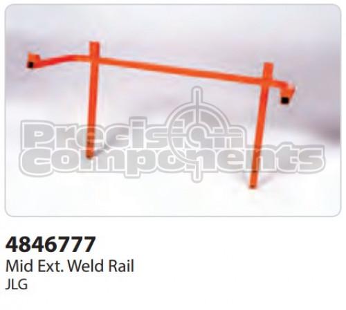 JLG Weldment, Mid Ext. Rail 2646 NAU - Part Number 4846777