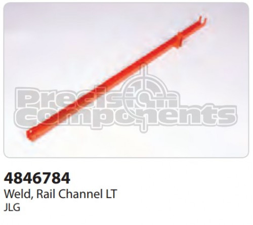 JLG Weldment, Rail Channel LT - Part Number 4846784