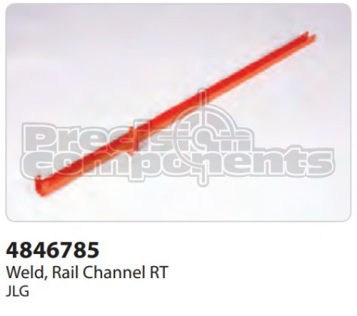 JLG Weldment, Rail Channel RT - Part Number 4846785