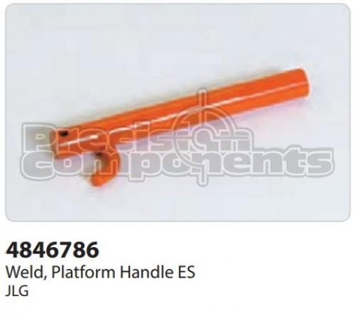 JLG Weldment, Platform Handle ES - Part Number 4846786