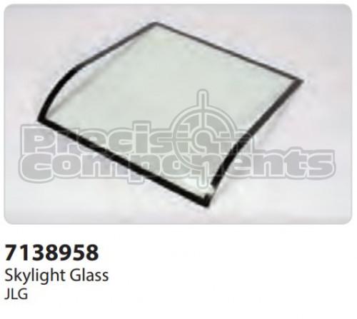 JLG Glass, Skylight - Part Number 7138958