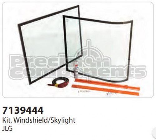 JLG Kit, Windshield/Skylight - Part Number 7139444