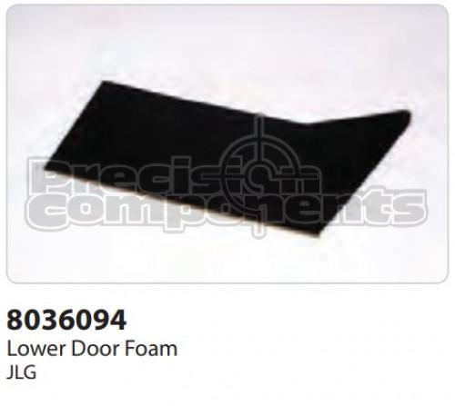 JLG Foam, Lower Door - Part Number 8036094