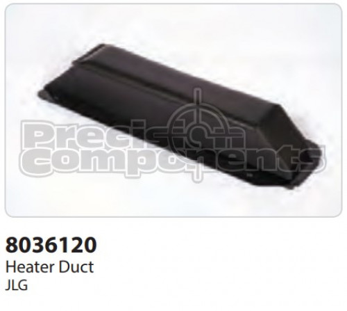 JLG Duct, Heater - Part Number 8036120