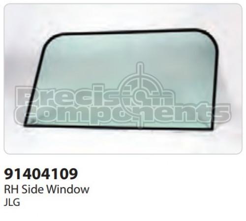 JLG RH Side Window - Part Number 91404109