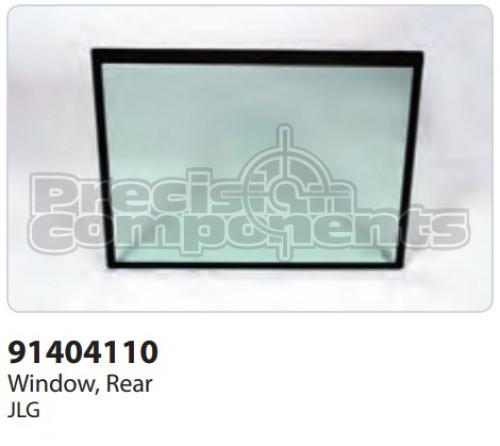 JLG Window, Rear - Part Number 91404110