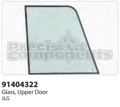 JLG Glass, Upper Door - Part Number 91404322