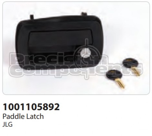JLG Latch, Assembly with Key - Part Number 1001105892