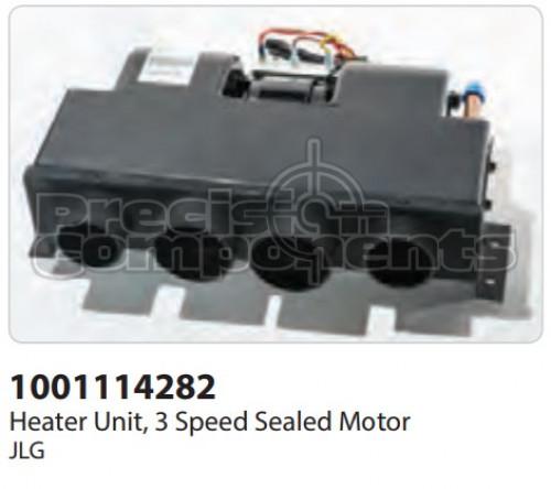JLG Heater Unit, 3 Speed Sealed Motor - Part Number 1001114282