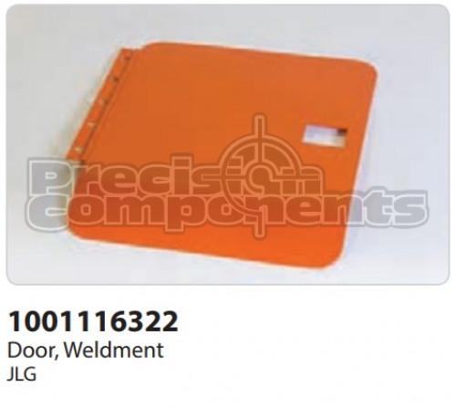 JLG Door, Weldment - Part Number 1001116322