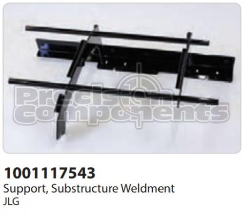 JLG Support, Substructure Weldment - Part Number 1001117543