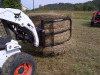 Blue Diamond Bale Squeeze Skid Steer Attachment, Opens To 70