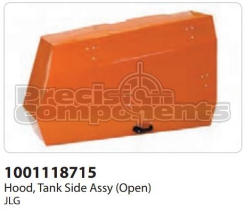 JLG Hood, Tank Side Assembly (Open) - Part Number 1001118715