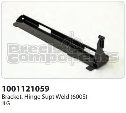 JLG Bracket, Hinge Supt. Weldment (600S) - Part Number 1001121059