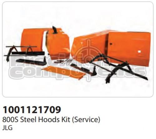 JLG Kit (Service), 800S Steel Hoods - Part Number 1001121709