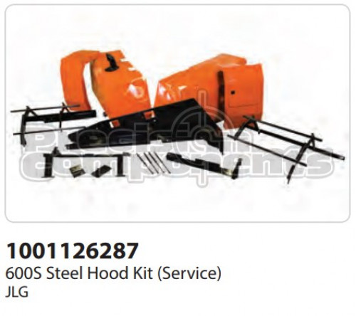 JLG Kit (Service), 600S Steel Hoods - Part Number 1001126287