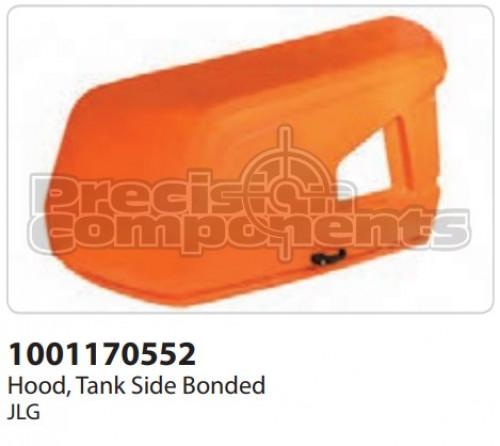 JLG Hood, Tank Side Bonded - Part Number 1001170552