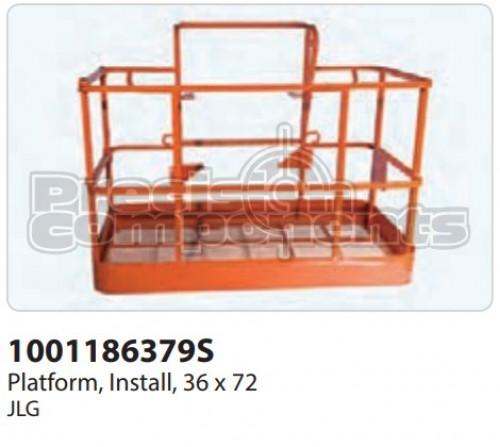 JLG Platform, Install, (36 x 72) - Part Number 1001186379S
