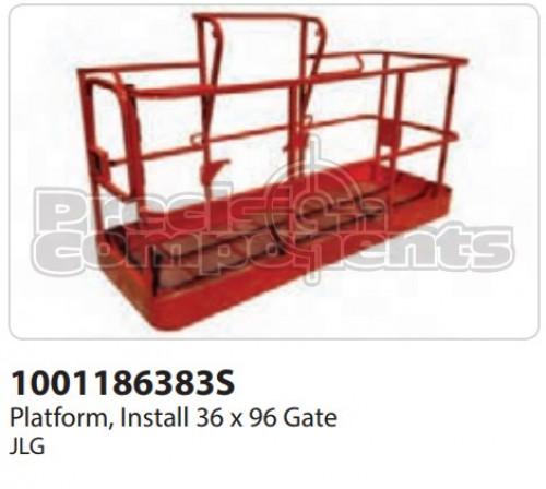 JLG Platform, Install (36 x 96) Gate - Part Number 1001186383S