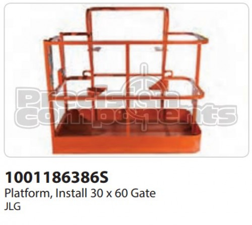 JLG Platform, Install (30 x 60) Gate - Part Number 1001186386S