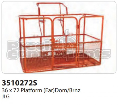 JLG Platform, 36 x 72 (Ear) Dom/Brnz - Part Number 3510272S