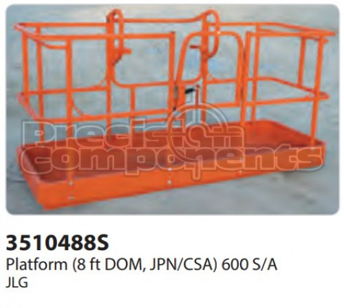 JLG Platform (8 ft. DOM, JPN/CSA) 600 S/A - Part Number 3510488S