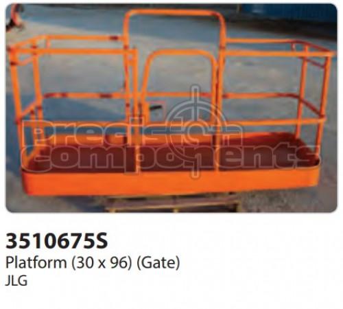 JLG Platform (30 x 96) (Gate) - Part Number 3510675S