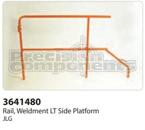 JLG Rail, Weldment LT Side Platform - Part Number 3641480S
