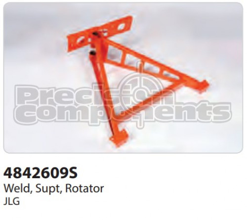 JLG Weldment, Support Rotator - Part Number 4842609S