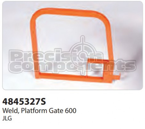 JLG Weldment, Platform Gate 600 - Part Number 4845327S