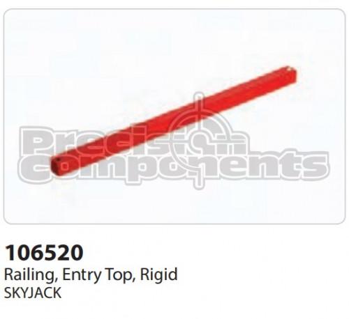 SkyJack Railing, Entry Top, Rigid - Part Number 106520