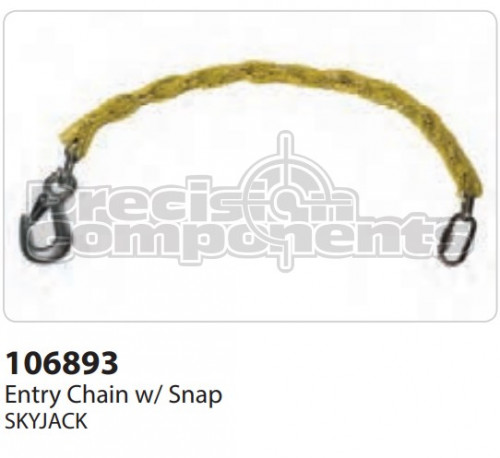 SkyJack Entry Chain with Snap - Part Number 106893