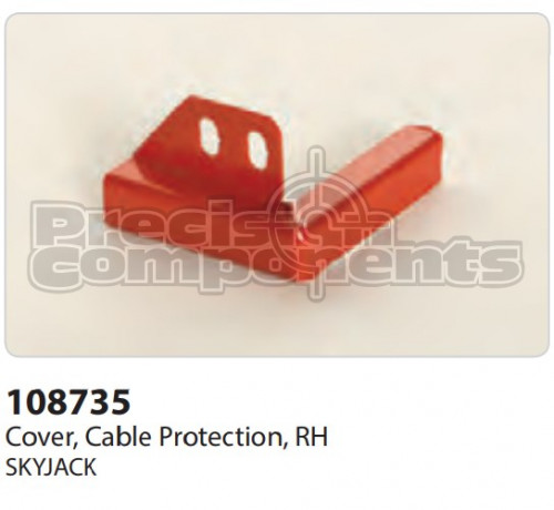 SkyJack Cover, Cable Protection, RH - Part Number 108735