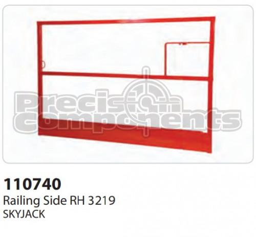SkyJack Railing Side RH 3219 - Part Number 110740