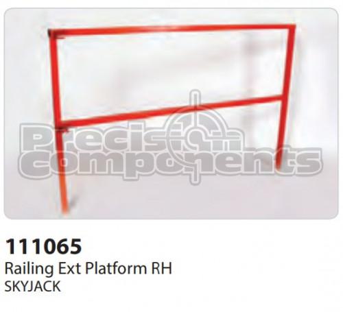 SkyJack Railing Extension Platform RH - Part Number 111065
