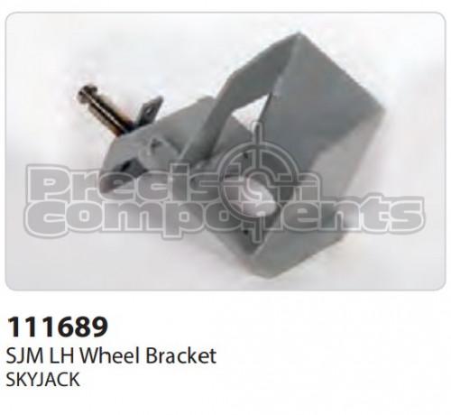SkyJack SJM LH Wheel Bracket - Part Number 111689