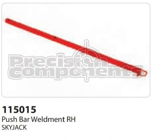 SkyJack Push Bar Weldment RH - Part Number 115015