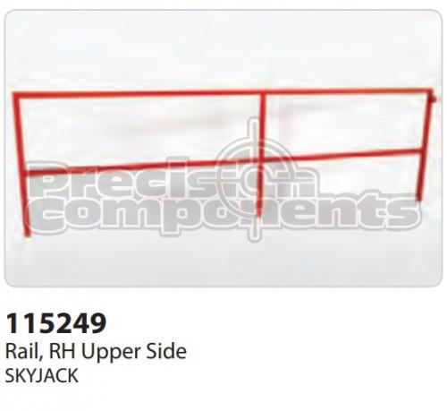 SkyJack Rail, RH Upper Side - Part Number 115249