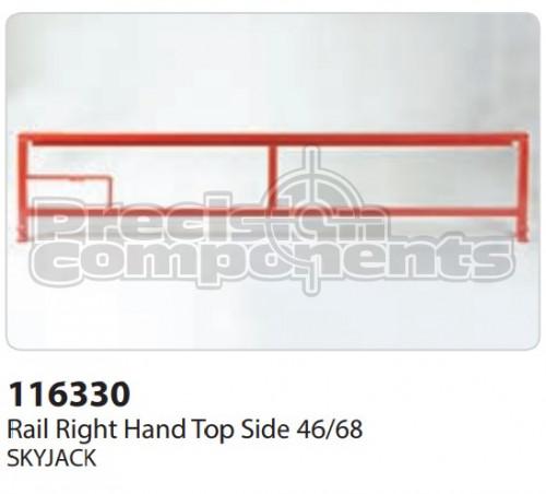 SkyJack Rail RH Top Side 46/68 - Part Number 116330