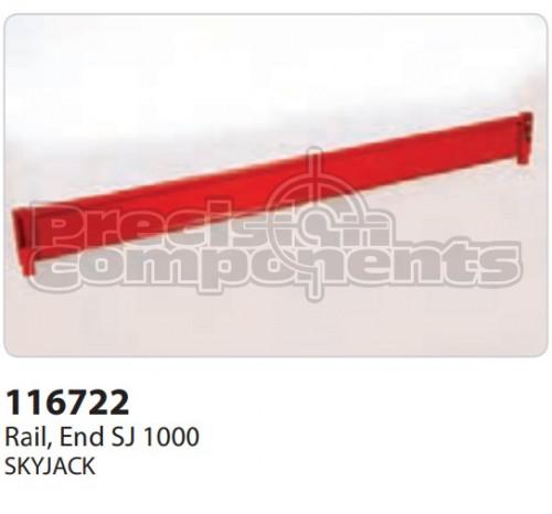 SkyJack Rail, End SJ 1000 - Part Number 116722