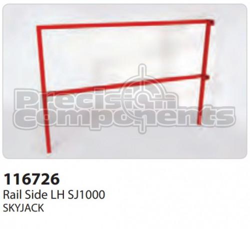 SkyJack Rail Side LH SJ1000 - Part Number 116726