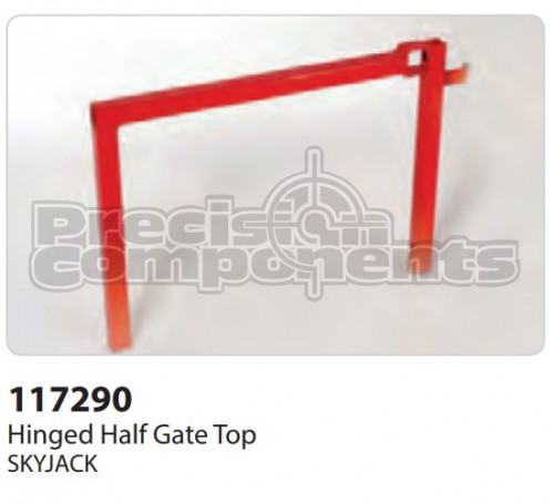 SkyJack Hinged Half Gate Top - Part Number 117290