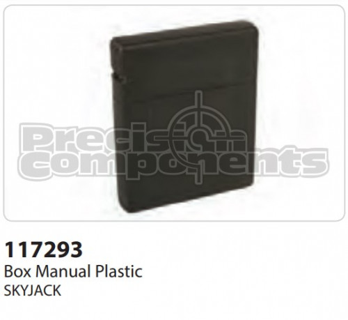 SkyJack Box Manual Plastic - Part Number 117293
