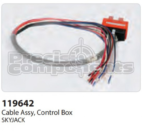 SkyJack Cable Assembly, Control Box - Part Number 119642