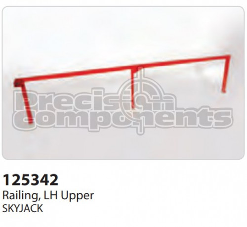 SkyJack Railing, LH Upper - Part Number 125342