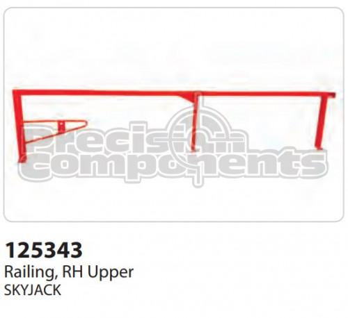 SkyJack Railing, RH Upper - Part Number 125343