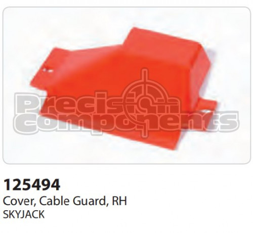 SkyJack Cover, Cable Guard, RH - Part Number 125494