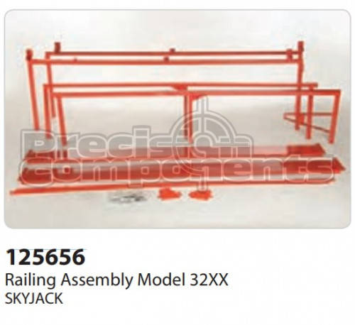 SkyJack Railing Assembly Model 32XX - Part Number 125656