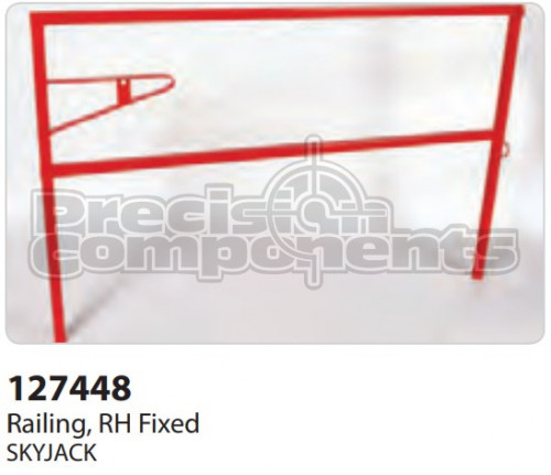 SkyJack Railing, RH Fixed - Part Number 127448